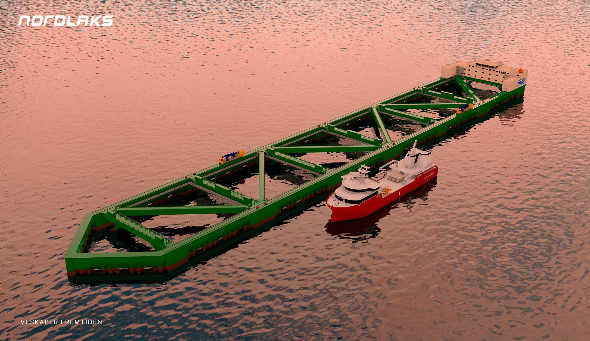 Havfarm 1 kommer til lokaliteten Ytre Hadseløya sommeren 2020.