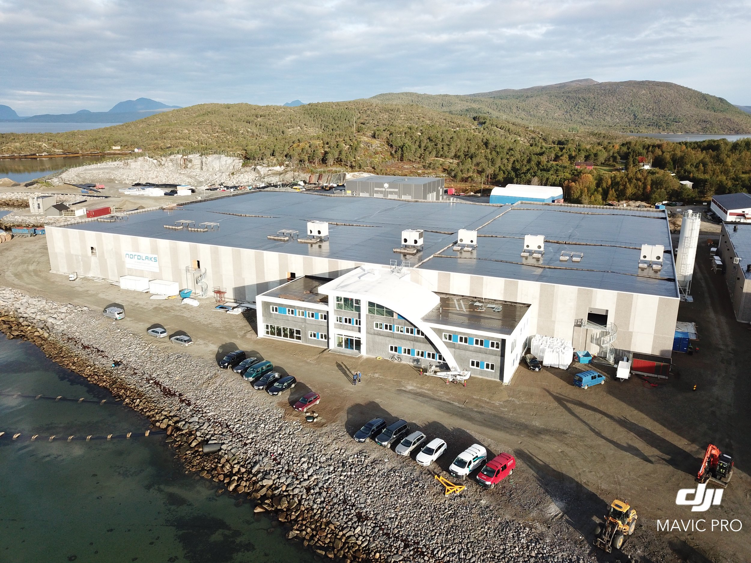 Smoltanlegget på Innhavet i Hamarøy