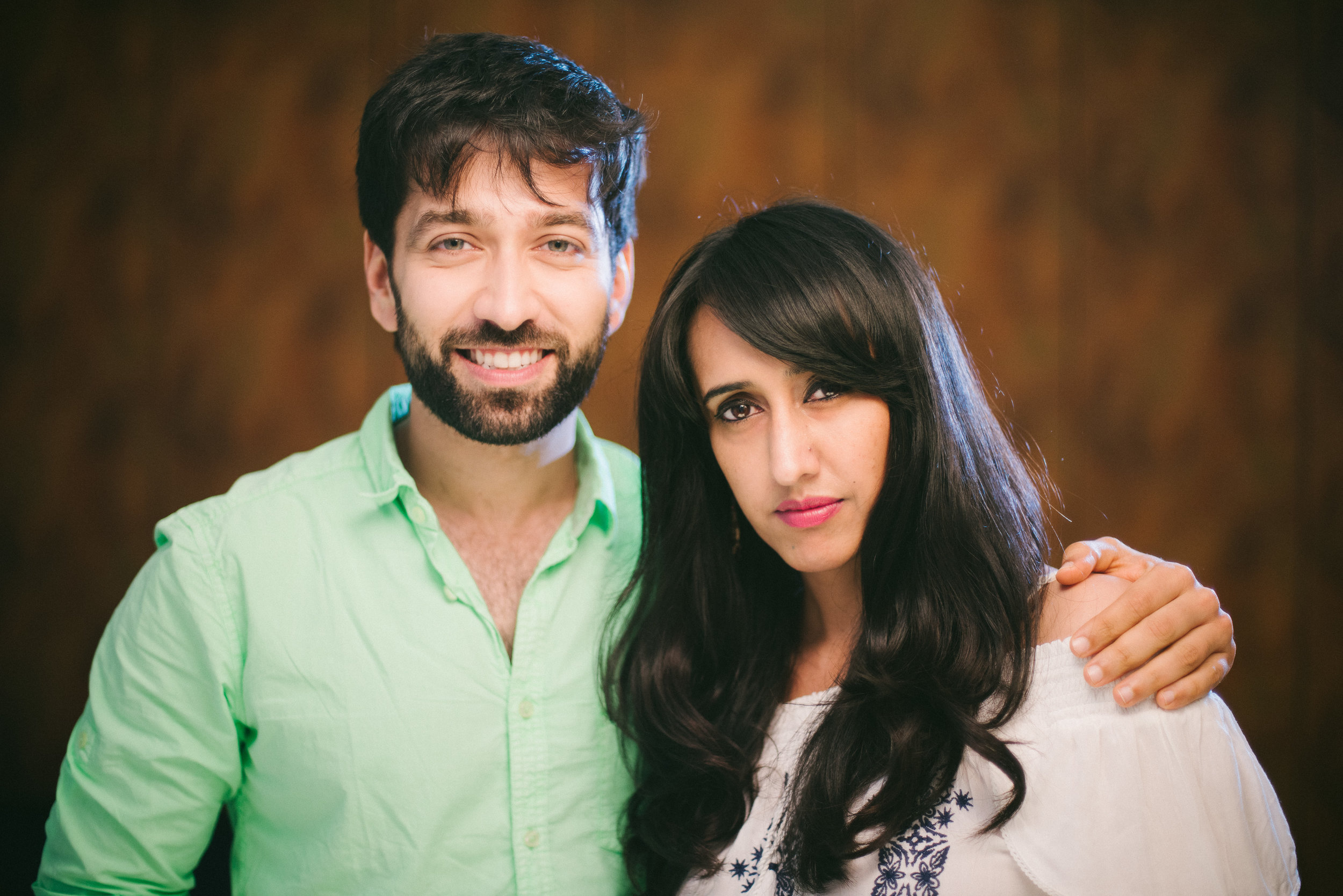 Nakuul Mehta and Gul Khan