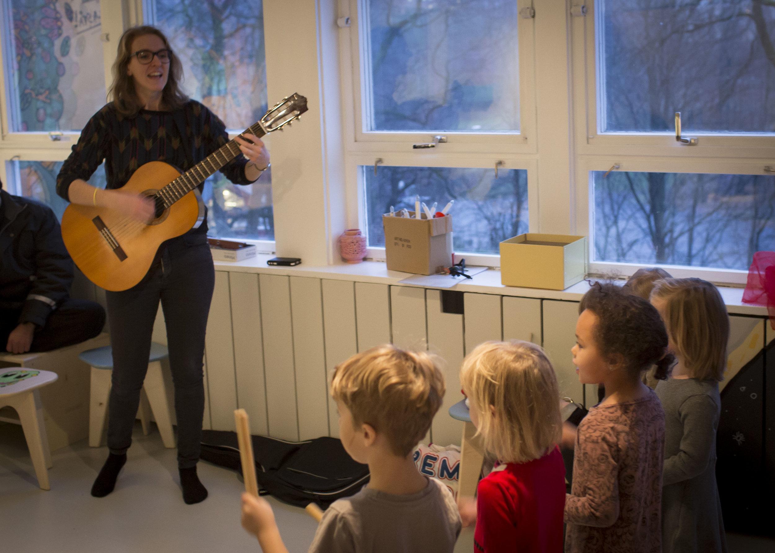 Konsert med Torshovhagen barnehage