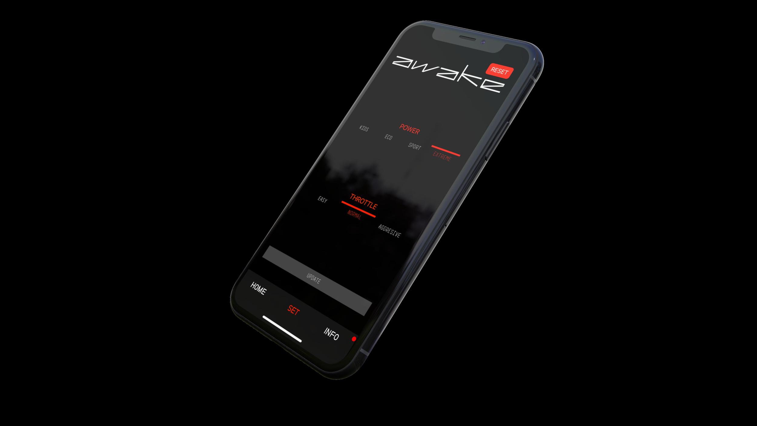 Electric surfboard app
