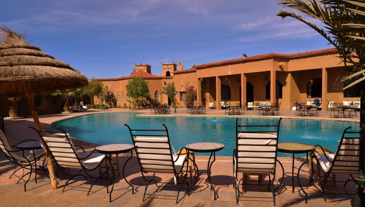 Hotel Palms Club Erfoud Pool.JPG