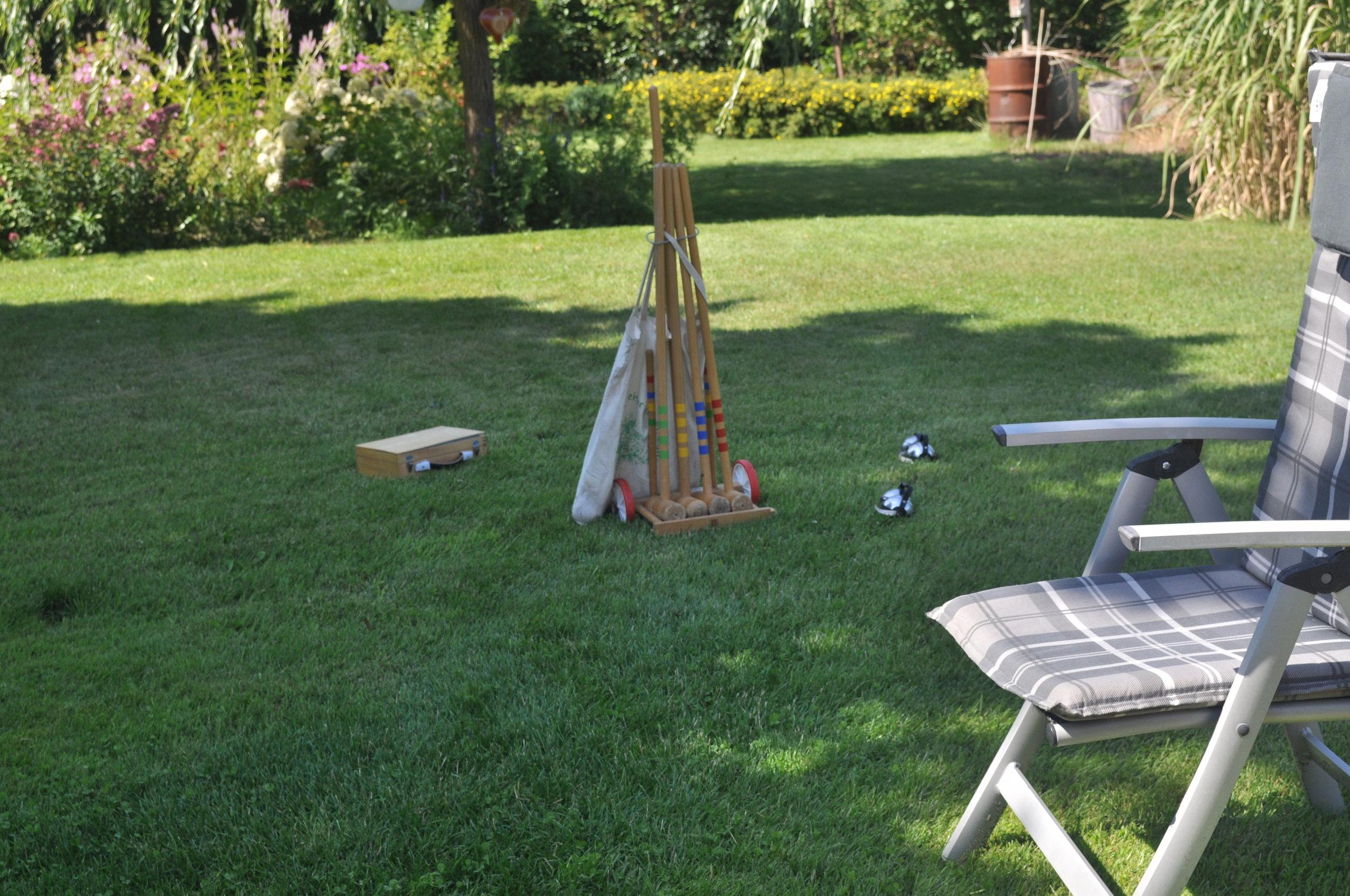 ... sich fürs Outdoor-Spielen gestärkt. Boule gehört unbedingt dazu!