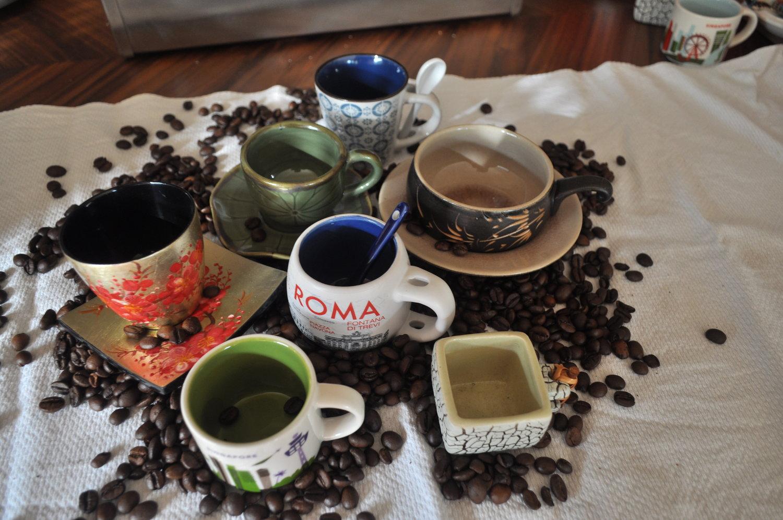 Die Weltenbummler sind zurück... - … und meine Espressotassen-Sammlung wächst!