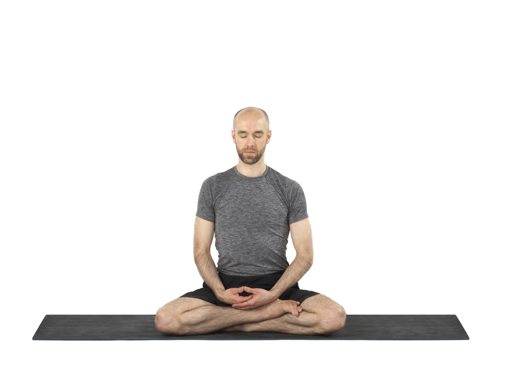 Seated meditation pose