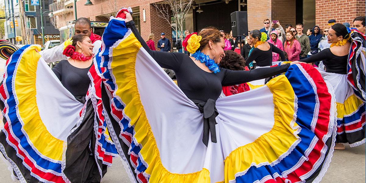 Huepa Culture - Columbian Performing Arts