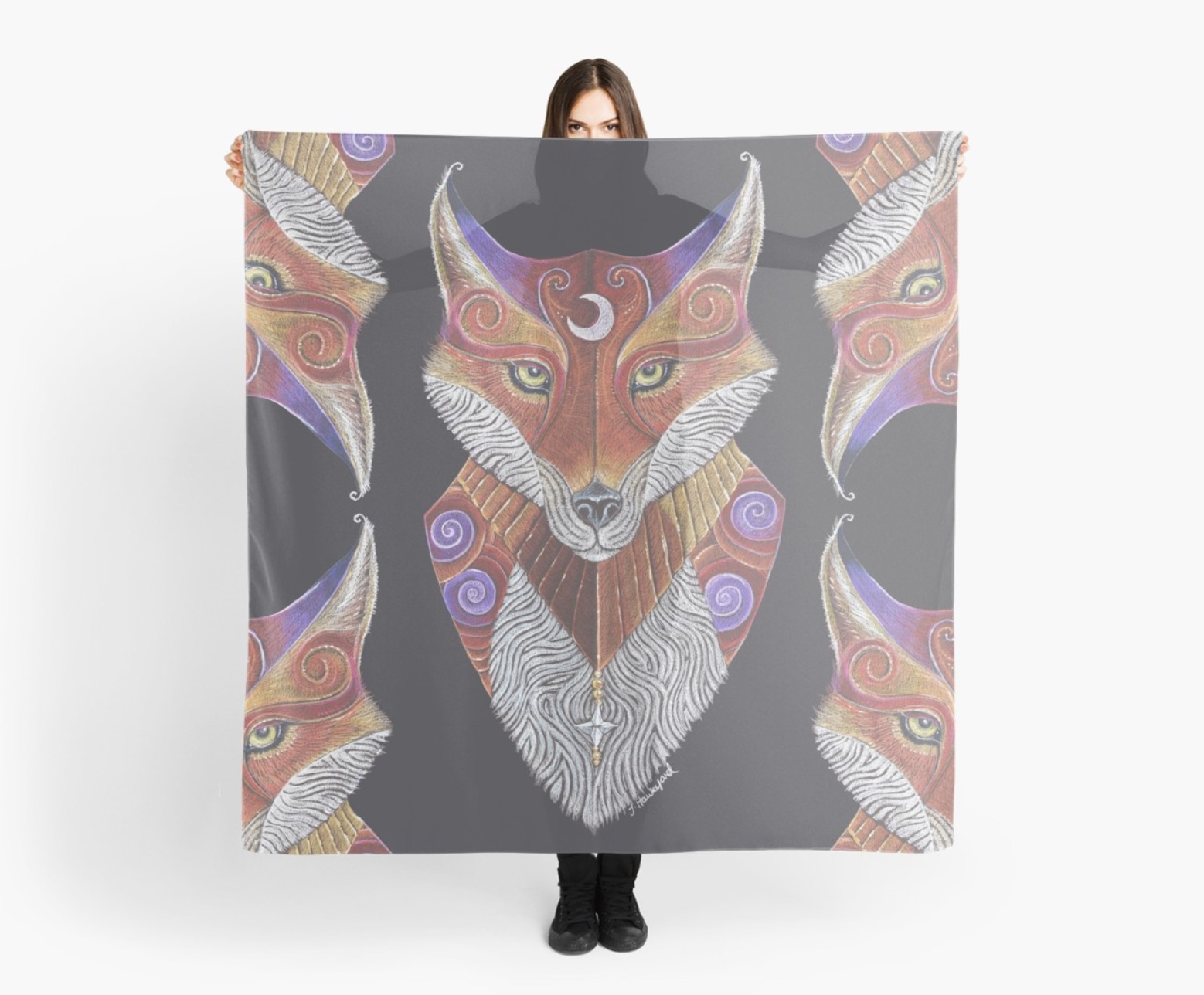 Apparel, accessories and home decor items available on redbubble