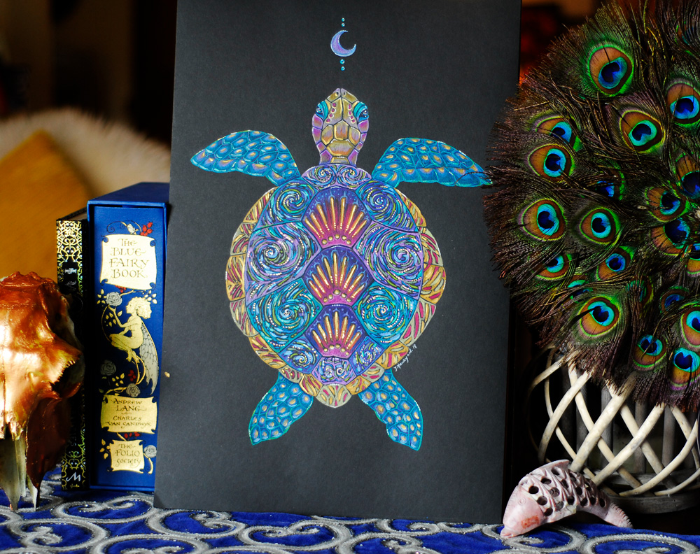 Photo of Turtle Totem by Jennifer Hawkyard