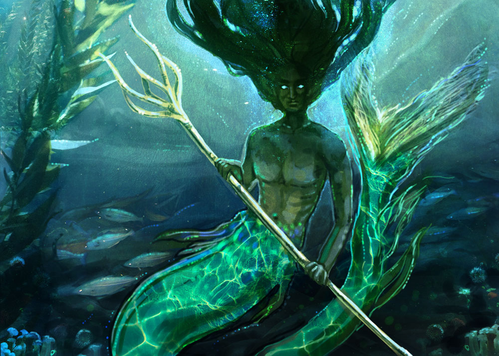 And my take on the Merpeople in the lake as featured in the Goblet of Fire.