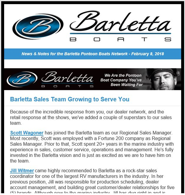 Barletta Sales Team
