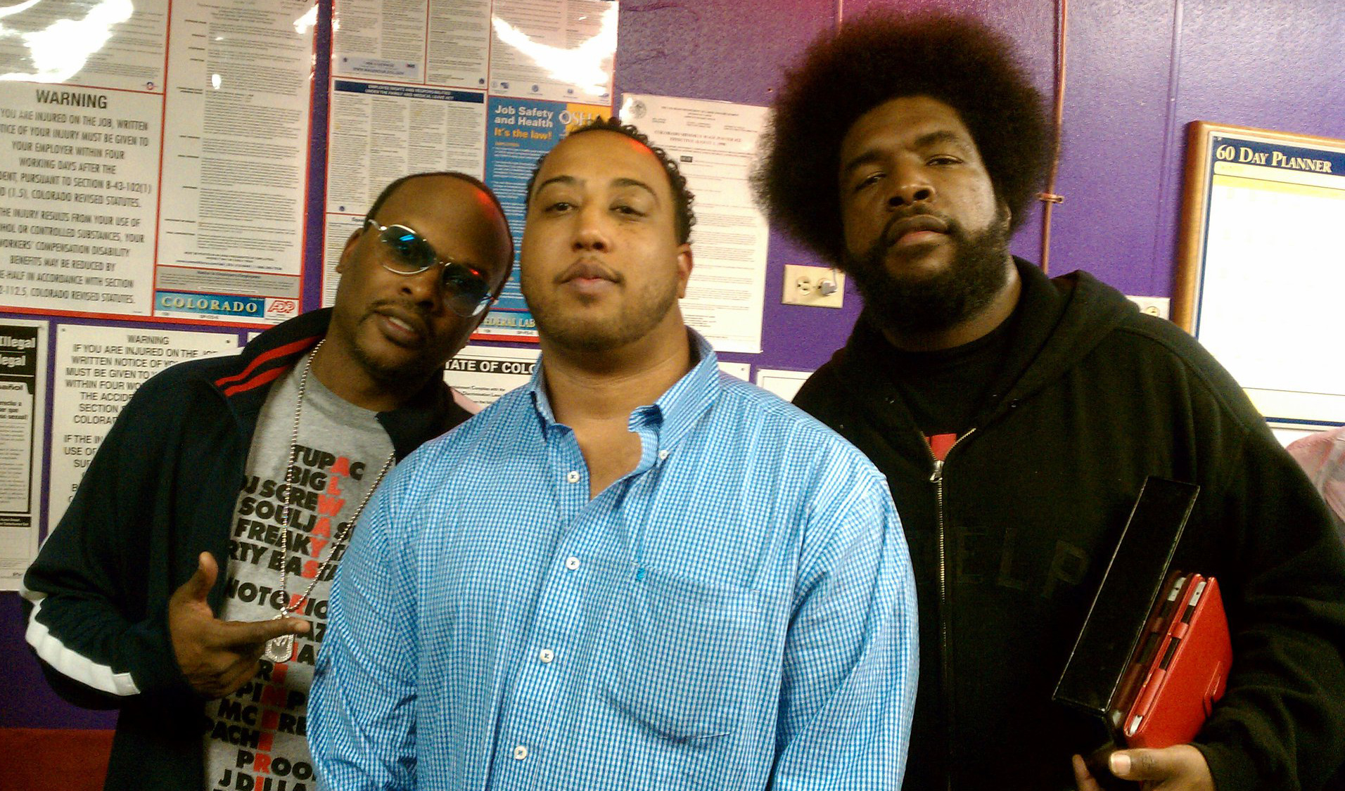 Jazzy Jeff, Me and Questlove (c. 2009)