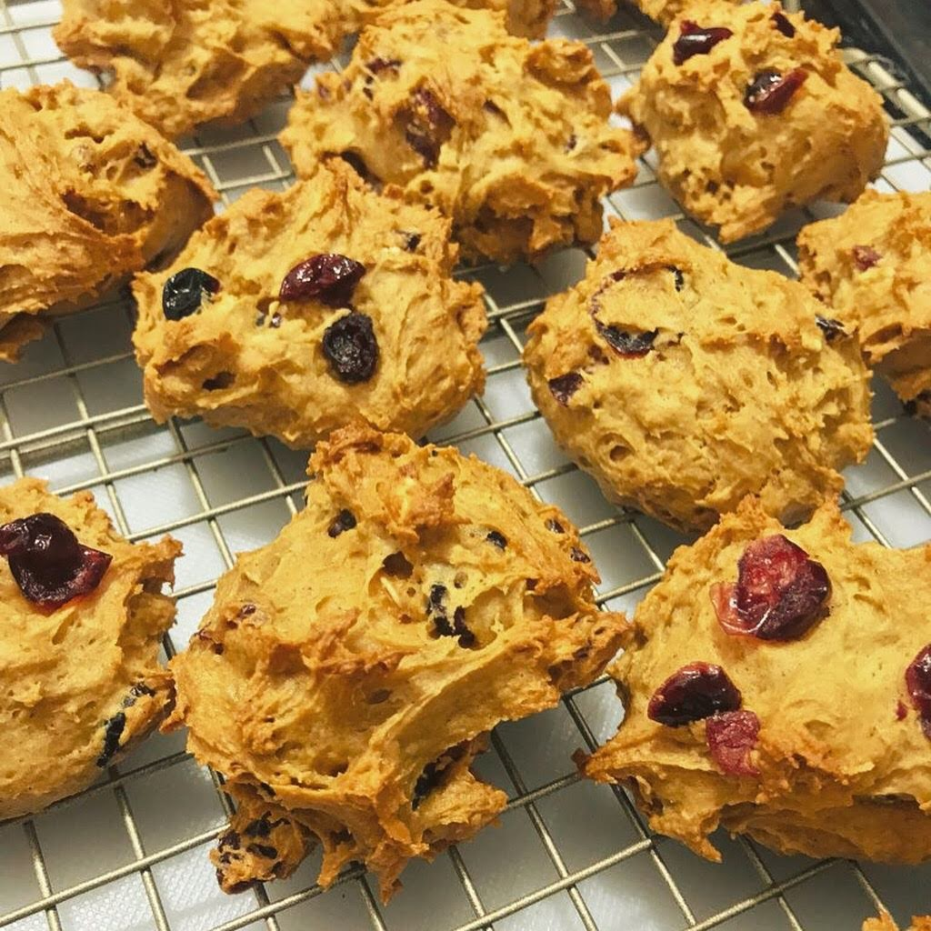 Mystery Cookies - with absolutely no coconut (recipe by @KatieDiek)