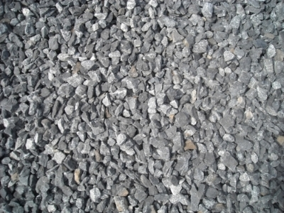 Large Crushed Stone -- Blue/Gray Color -- Used for Drainage