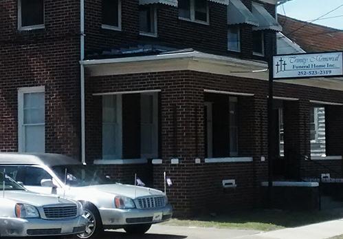 TRINITY MEMORIAL - FUNERAL HOME108 W Shine St •Kinston, NC 28501(252) 523-2319