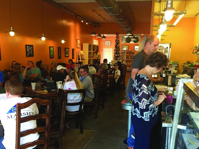 HAWK'S NEST CAFE - HOMEMADE BAKED GOODS   NC GENERAL STORE   BREAKFAST, LUNCH & DINNER100 S Queen St • Kinston, NC 28501(252) 686-6149