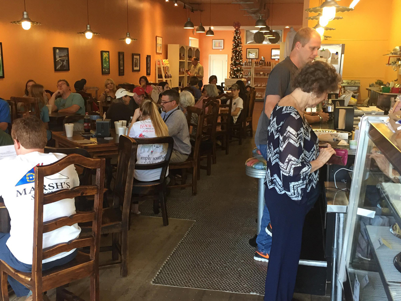 HAWK'S NEST CAFE - NORTH CAROLINA GOODS GENERAL STORE 100 S Queen St • Kinston, NC 28501(252) 686-6149
