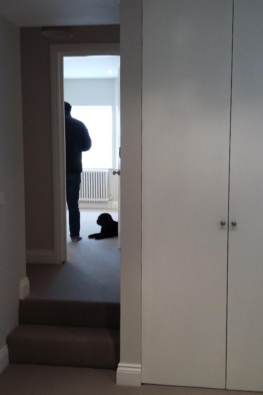 Hallway - 'before' photo