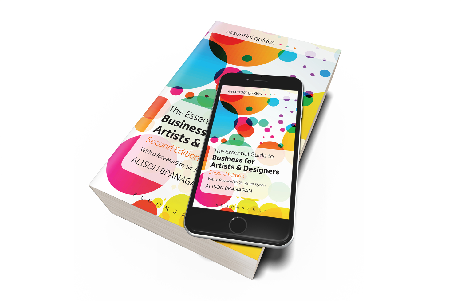Audrey's featured in the book 'The Essential Guide to Business for Artists and Designers'!