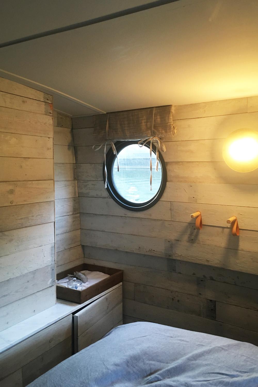 Bert's barge bedroom