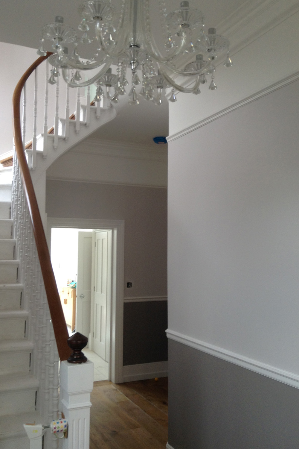 A colour scheme of 2 colours from the same colour family, at Marriott Road, Barnet EN5