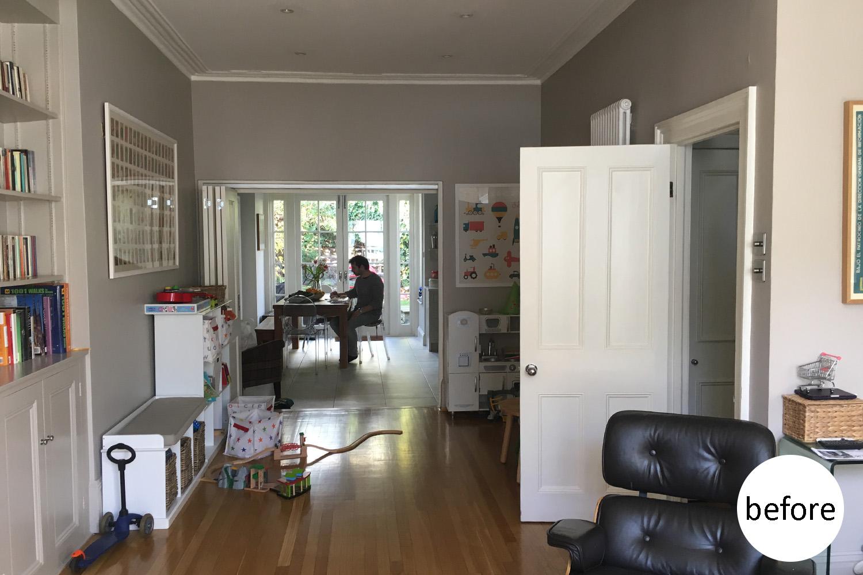 Playroom - before