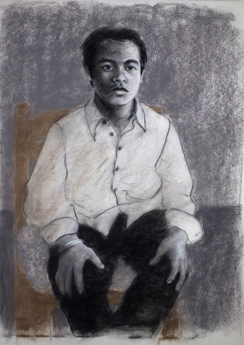 SURVIVAL - PORTRAIT OF DANIEL BY DONNA BACKUES