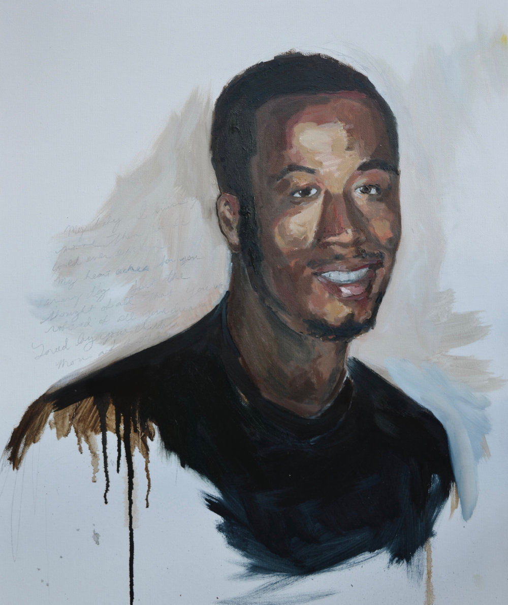 THE ACHING - PORTRAIT OF JALIL HASSAN HOSKIN-TRUESDALE BY ANNA KOCHER