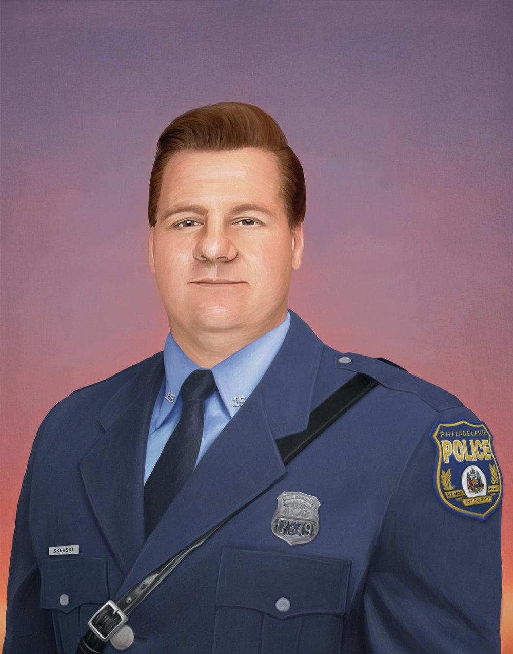 A PHILADELPHIA HERO - PORTRAIT OF POLICE OFFICER GARY SKERSKI, PO