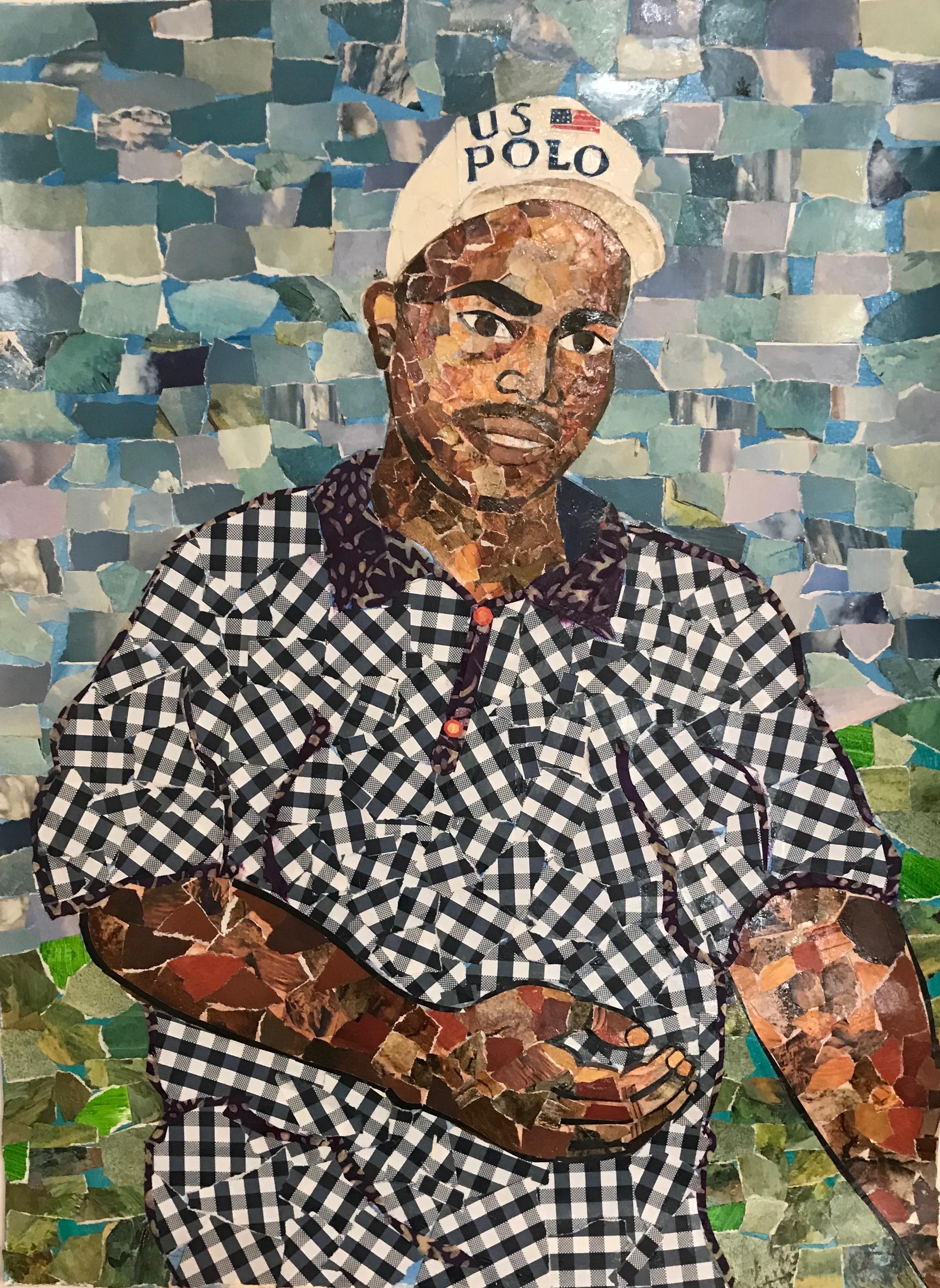 Portrait of Dwayne Erik Green by Joe Brenman