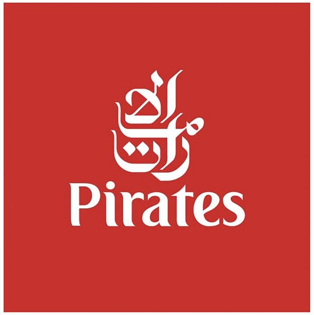 Pirates, are everywhere. .  #Pirates #emirates #bemorepirate #logo