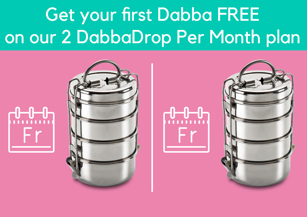 £22 Per Curry for Two - Don't forget you're subscribing to receive your Dabba delivery every 2 weeks from the first Friday you choose.If you want to change your mind please let us know by 3pm on the Wednesday before your delivery. We'll send you an email to remind you.If you'd like to pause your subscription, let us know ASAP or before 3pm on Wednesday on the week of your delivery.Read our terms here or for FAQs click here.You'll be charged £22 for your curry for two every fortnight, starting after your 14-day free trial! Today we add a £15 one-time fee at checkout for your own reusable Dabba.Your fortnightly amount will include:+ £3 per bike delivery+ delicious extras! Add samosas, chutneys & pickles as you wish.