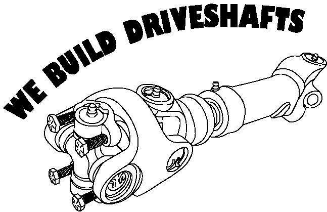 We build driveshafts