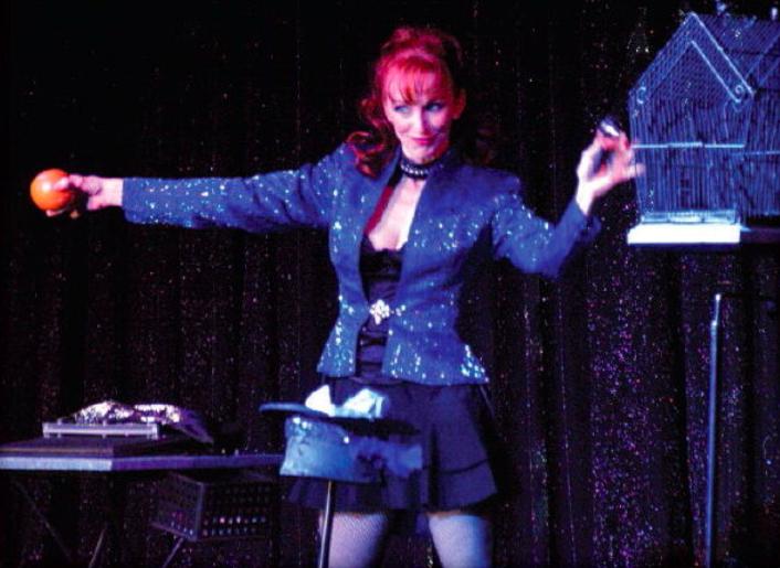Connie Boyd performing July 2019 Genii