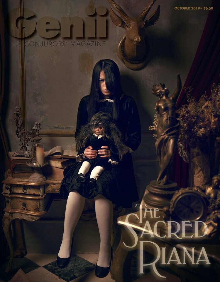 The Sacred Riana Genii Cover October 2019