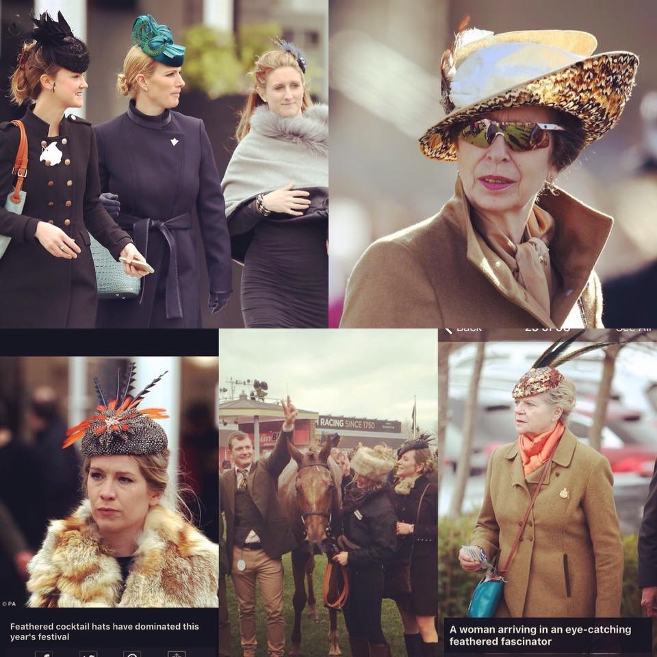 Press coverage for Titfers at the Cheltenham Festival in 2017