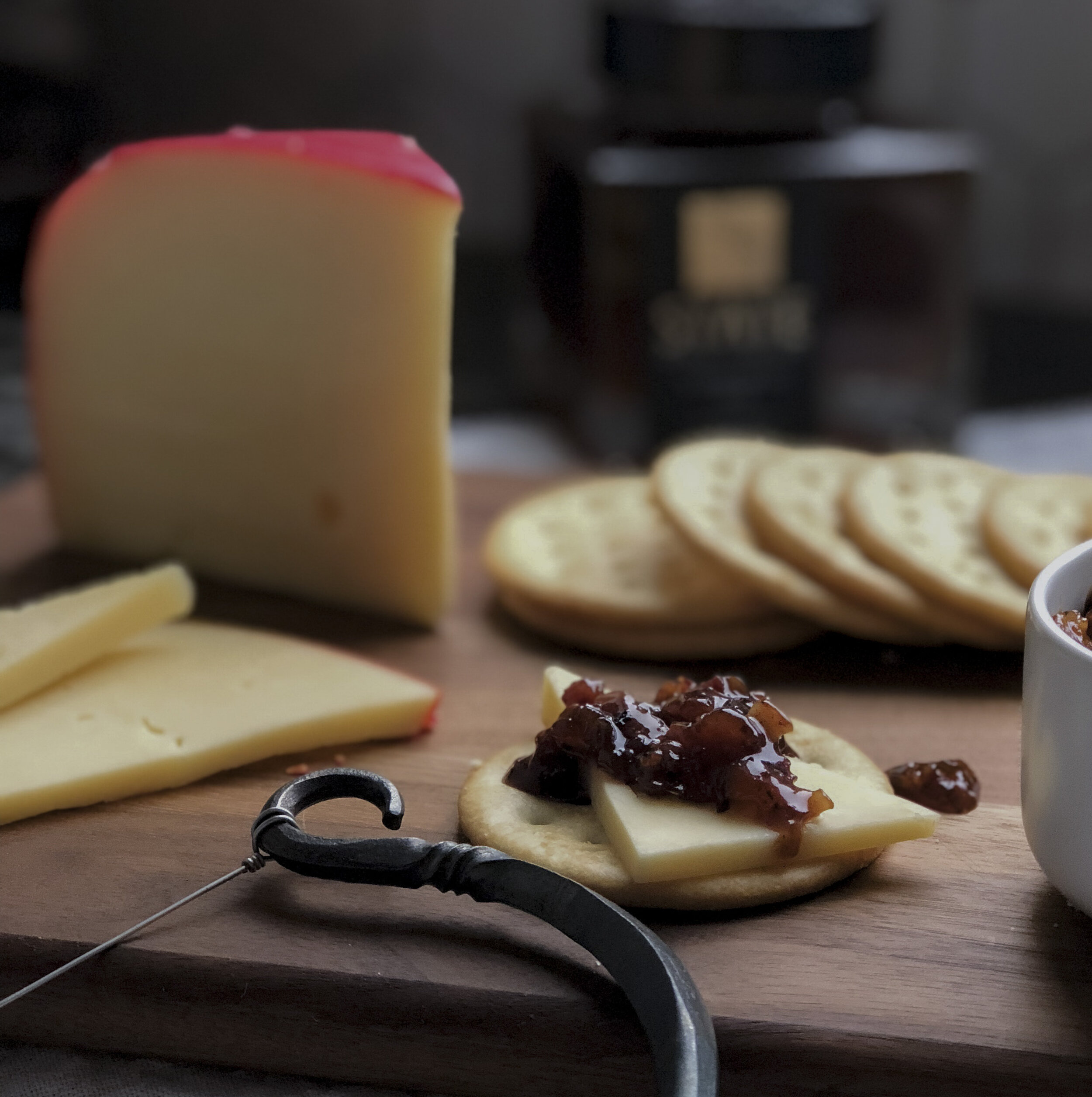 Pairings - Buttery cheese, vanilla, waffle, bacon, red meats, rum, and chocolate.