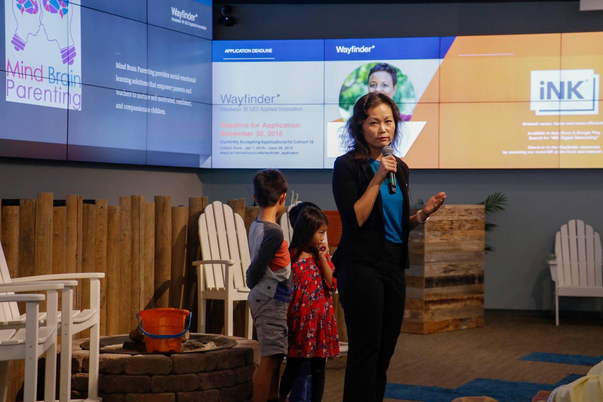 Talk on social entrepreneurship at innovation lab