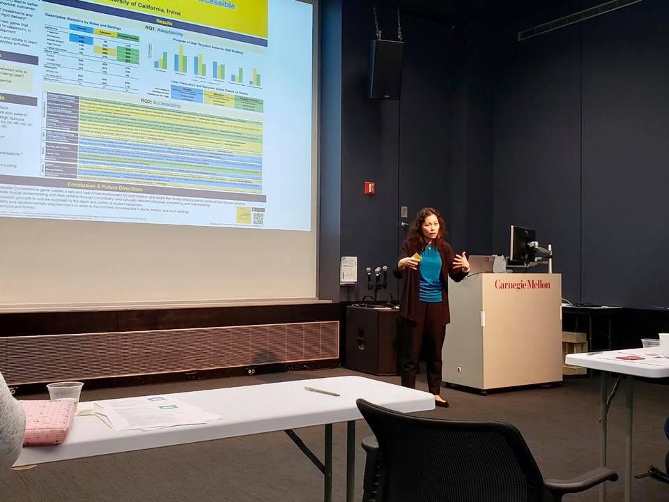 talk at Carnegie Mellon university
