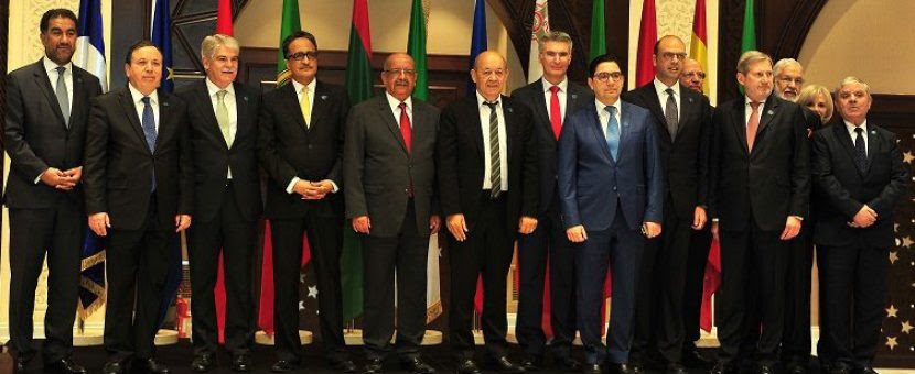 Tunisia took part on January 21, 2018 in the 14th meeting of the Foreign Ministers of the 5+5 Dialogue on the Western Mediterranean in Algeria.TunisianForeign Minister Mr. Khemaies Jhinaoui took part in this meeting which is co-chaired by Algeria and France.  The meeting focused on the consolidation of the comprehensive and sustainable economic and social development to meet the region's common challenges.  Several issues on the western Mediterranean, in particular the region's security and stability and combating terrorism and extremism tackled during the meeting.  Participants also discussed strengthening co-operation in several vital fields such as youths employment, vocational training, migration and mobility, climate changes and sustainable development.  The Tunisian Foreign Minister had, on the fringes of the meeting, bilateral talks with the Arab Maghreb Union (AMU) Secretary-General, the Union for the Mediterranean (UfM) Secretary-General and the European Union (EU) representative.  The 5 + 5 Dialogue brings together Spain, France, Italy, Malta and Portugal on the northern shore, as well as Algeria, Libya, Morocco, Mauritania and Tunisia on the southern shore.  Secretaries-general of the AMU, UfM and the EU participated in the meeting as observers.
