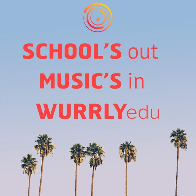 School's out, Music's in, WURRLYedu 😎🎵 https://www.wurrlyedu.com/  #SchoolsOut #Summertime #SummerCamp #SummerProgram #Inspire #Practice #Record #Reflect #Wurrly #RaiseYourVoice