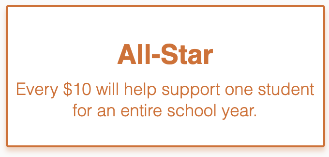 All Star Donation