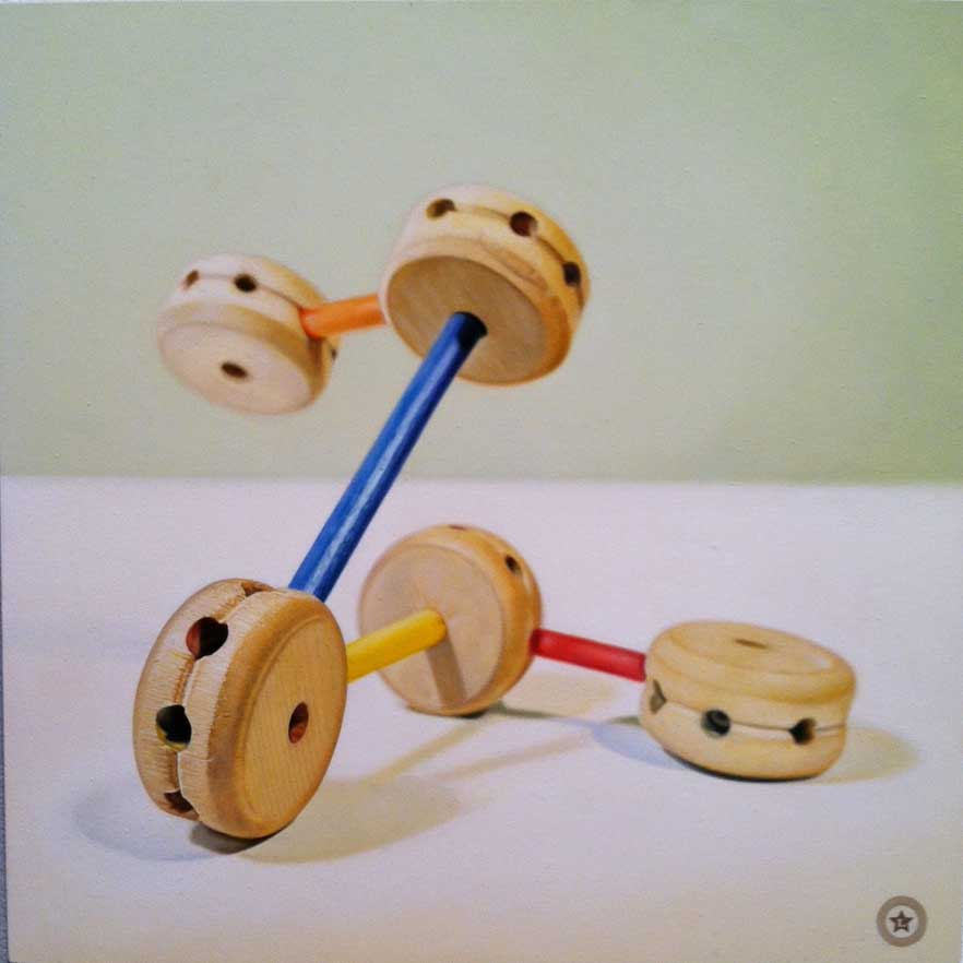 Tinker Toy Molecule No. 2