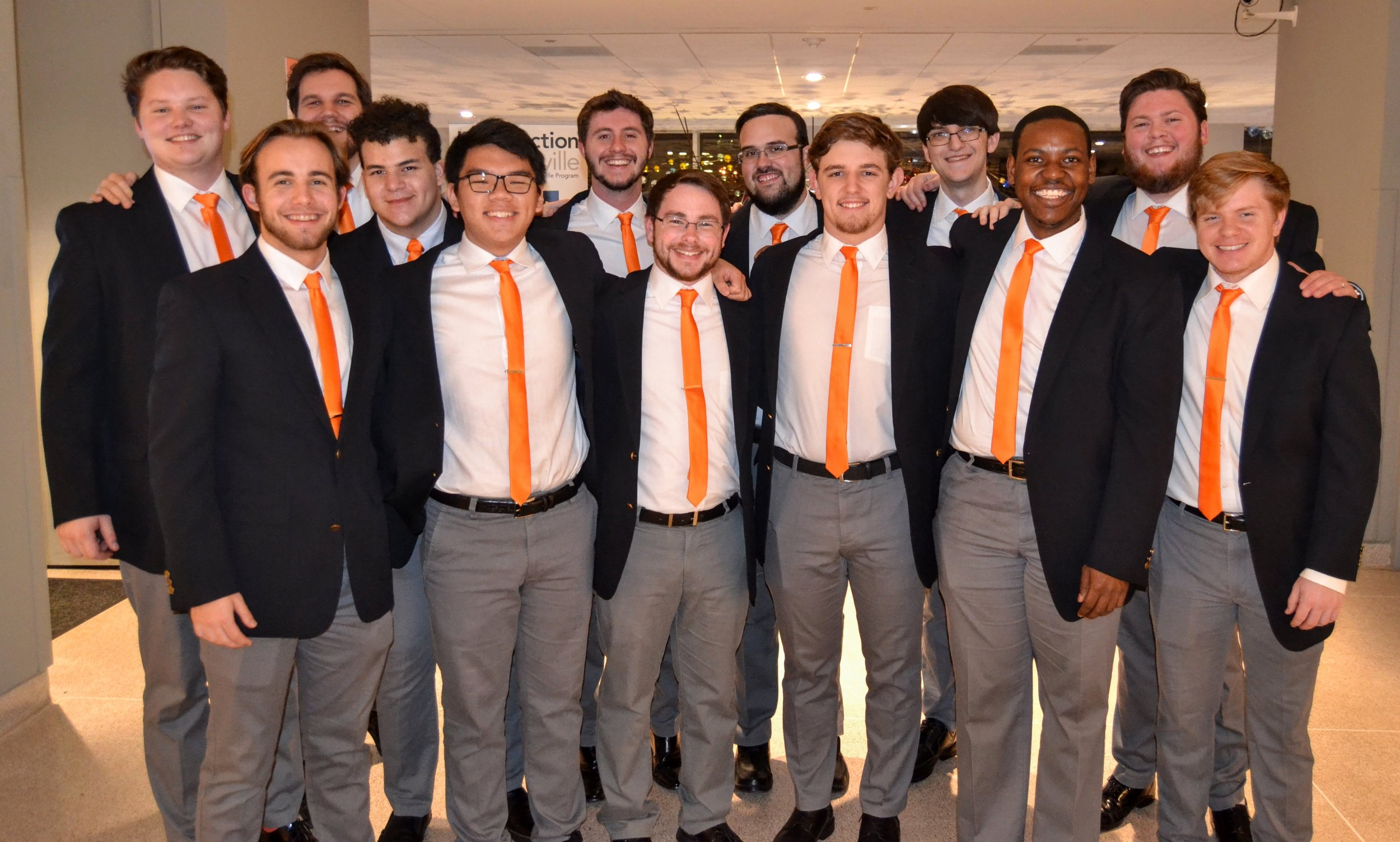 A Capella group VOLume from The University of Tennessee
