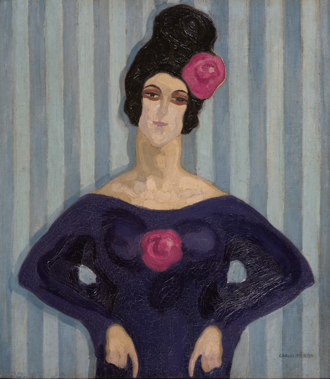 Lady of the Rose, 1912