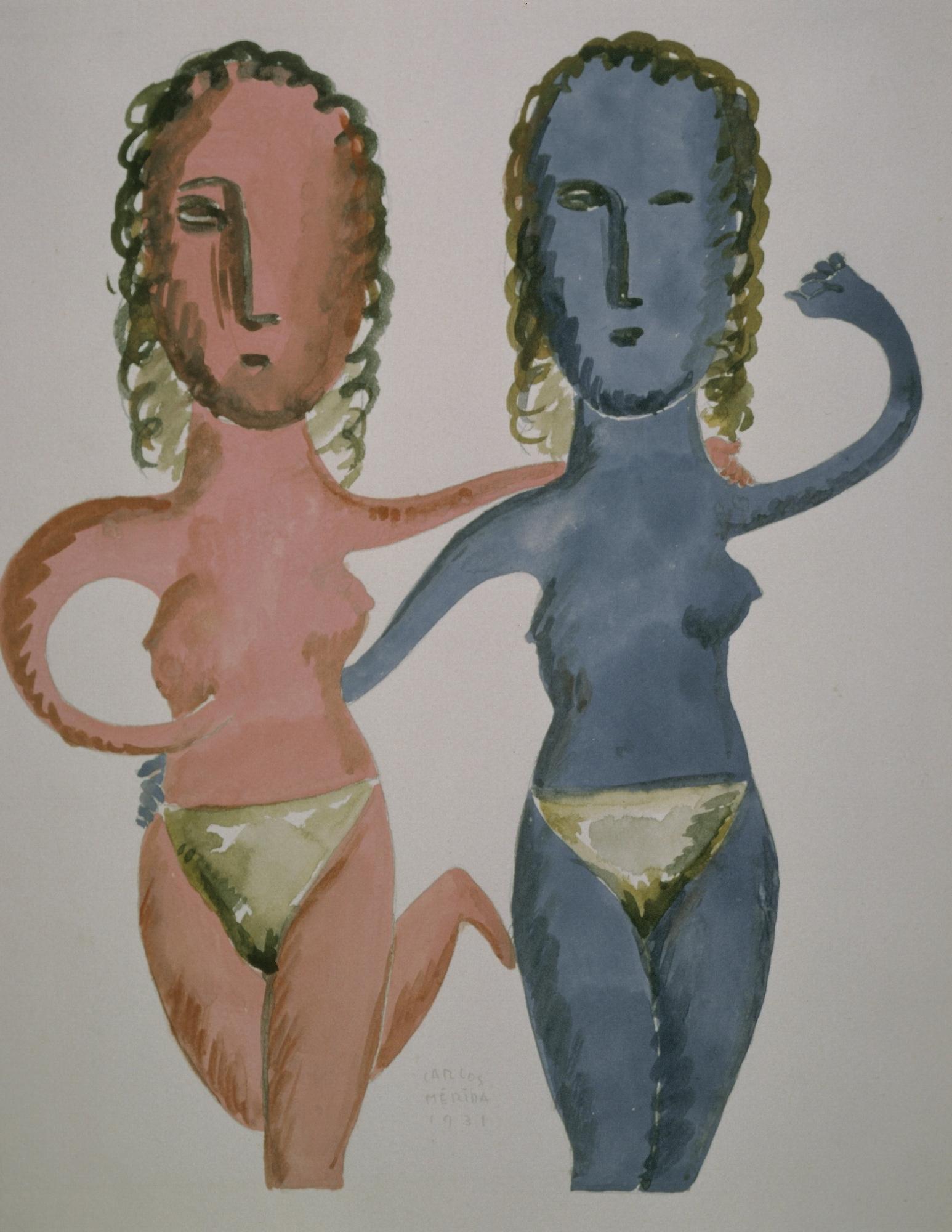 Acrobats, 1931