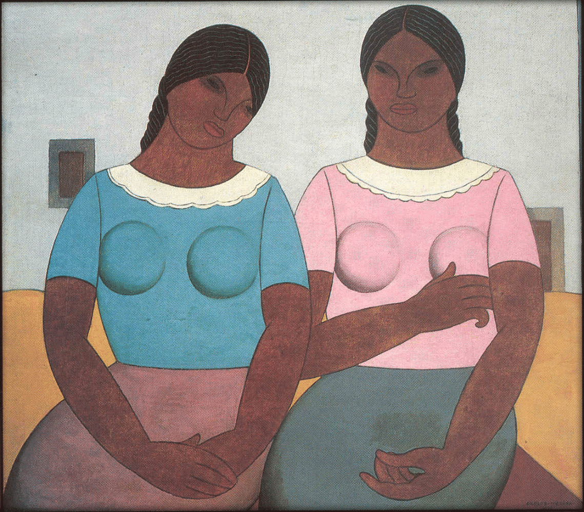 Guatemalan Women, c. 1925 Oil on canvas, 74 X 85 cms. Courtesy of the Galería Arvil, Mexico City