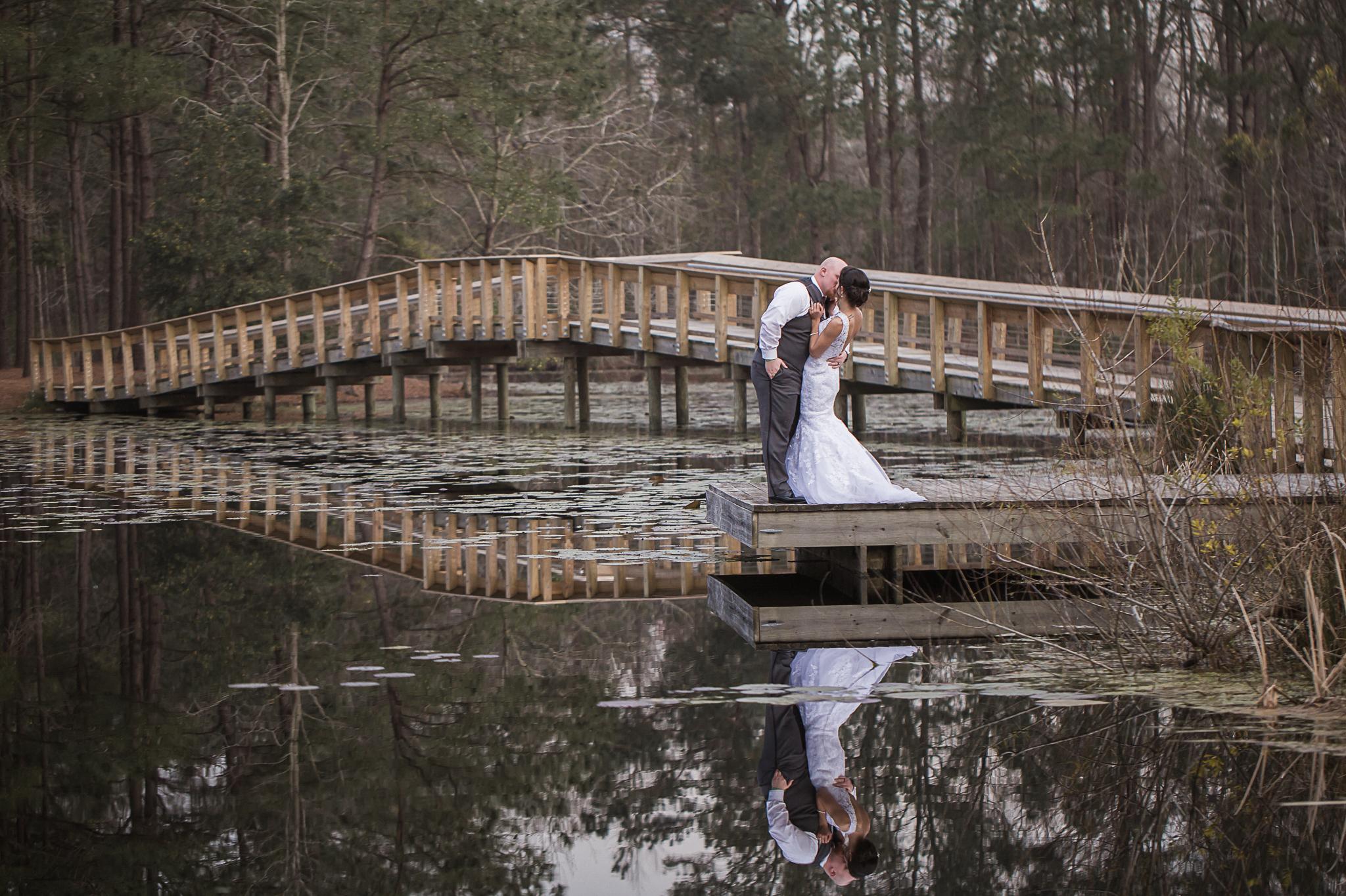 Bride and Groom Charleston Wedding Photographer