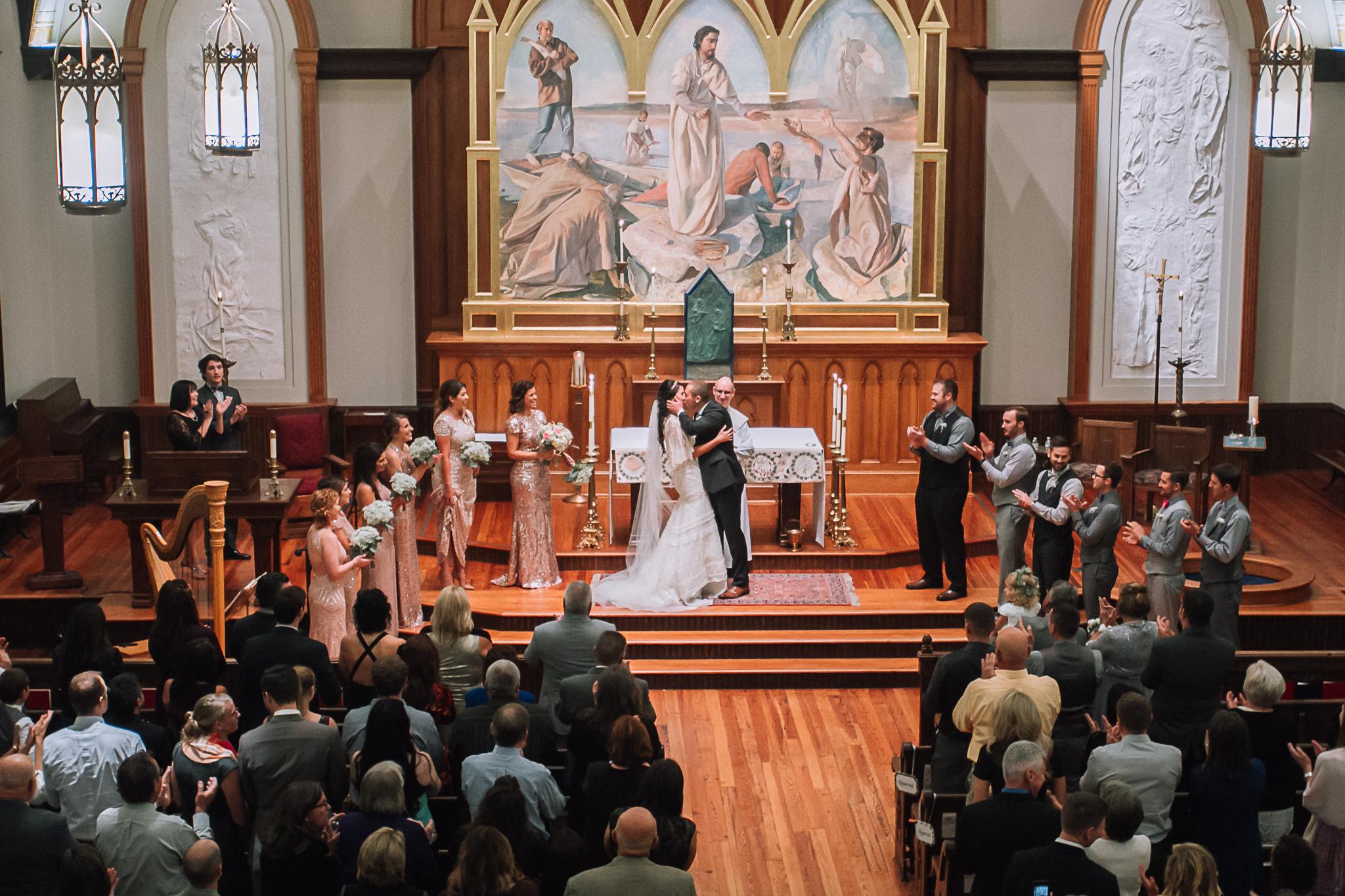 Wedding Ceremony Charlotte Wedding Photographer