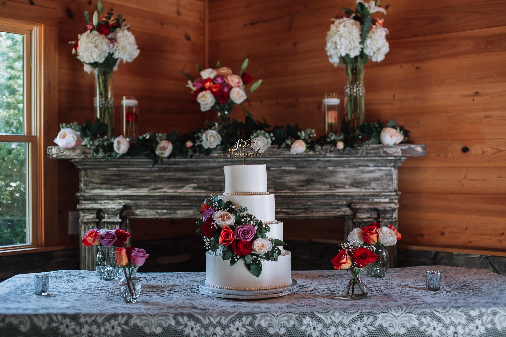 Wedding Cake and Decor Charlotte Wedding Photographer