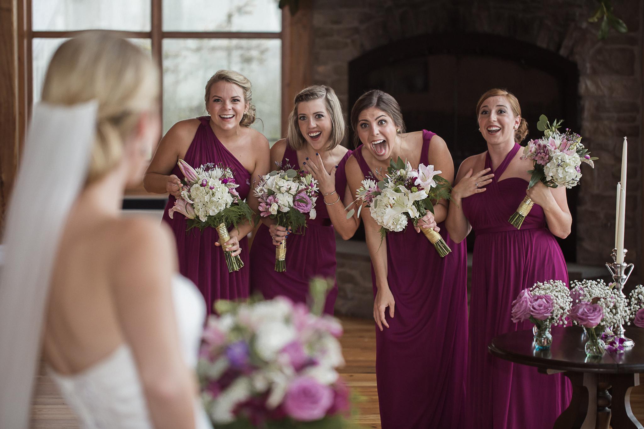 Bridesmaids Charlotte Wedding Photographer